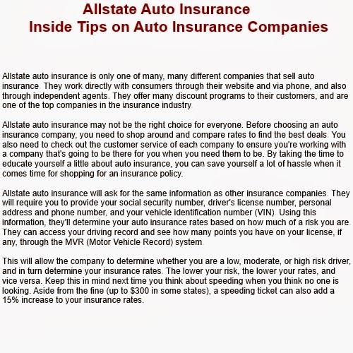 Inside Tips On Auto Insurance