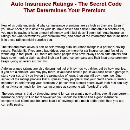 insurance company auto insurance vehicle ratings. Black Bedroom Furniture Sets. Home Design Ideas